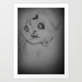 Devines zombies #3 Art Print