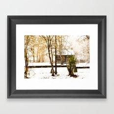 Hidden Winter Framed Art Print