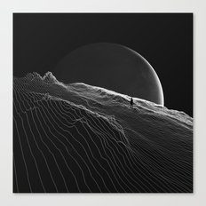 Private version of the world Canvas Print