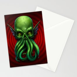 Cthulhu Skull 2013 Stationery Cards