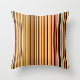 Old Skool Stripes - Bold - Extra Wide Throw Pillow