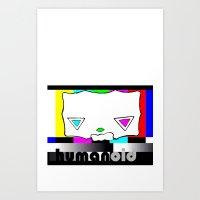 humanoid - 003 var.4 Art Print