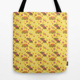 Dog Pattern: Lucy&Rio Tote Bag
