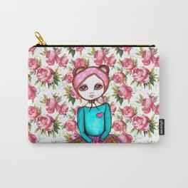 Bear Girl Carry-All Pouch