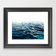 Winds of the Sea Framed Art Print