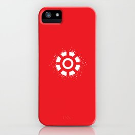 Square Heroes - man of iron iPhone Case