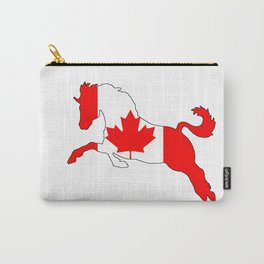 """Horse """"Canada"""" #2 Carry-All Pouch"""