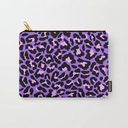 Neon leopard Carry-All Pouch
