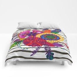 Jungle Flowers Comforters