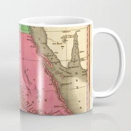 Map Of Egypt 1829 Coffee Mug