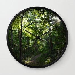 Ozark Sun Wall Clock