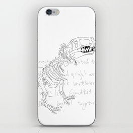 T Rex iPhone Skin