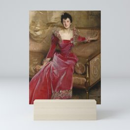 "John Singer Sargent ""Mrs Hugh Hammersley"" Mini Art Print"