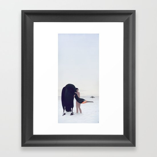 You Could Stay There Framed Art Print