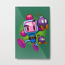 Bombs Away Metal Print