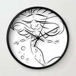 LIL MERM Wall Clock