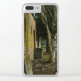 Abandoned Warehouse - Mount Vernon, WA Clear iPhone Case