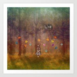 Wonderland Forest Art Print