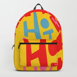 Hot Chilli Backpack