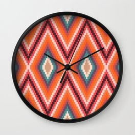 Missy Chevron 3B Wall Clock