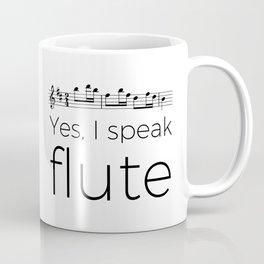 I speak flute Coffee Mug