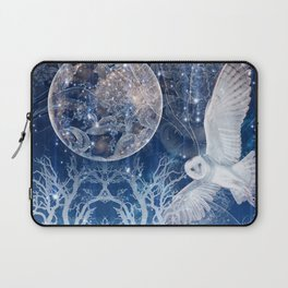 The Temple of the Full Moon Laptop Sleeve