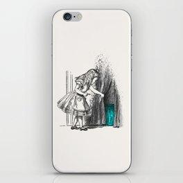 Follow The White Rabbit iPhone Skin