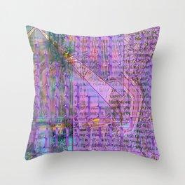 """""""Teenage Head"""" Again and Again [A Simple Constraint Series] Throw Pillow"""