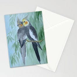 Cockatiels Stationery Cards
