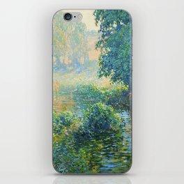 Václav Radimský (1867-1946) Bath Modern Impressionist Oil Painting Colorful Bright Landscapes iPhone Skin