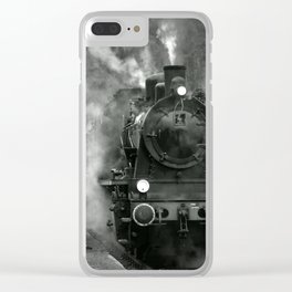 Steam Engine Clear iPhone Case