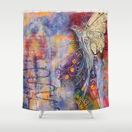 Rising from the Ashes Shower Curtain