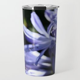 Agapanthus in focus Travel Mug