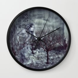 In The White Wall Clock