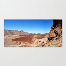 Tenerife: Roques de García Canvas Print