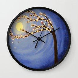 Bustling Breeze Wall Clock
