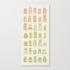 Salt & Pepper (Color) Canvas Print