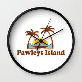 Pawleys Island - South Carolina. Wall Clock
