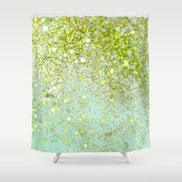 Jaded Blitz Shower Curtain