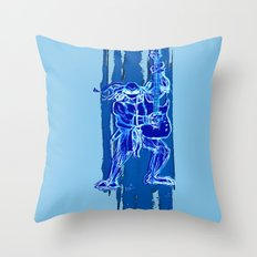 TMNT Rock: Leo Throw Pillow