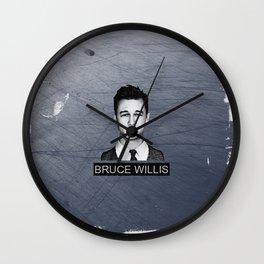 Bruce Willis Wall Clock