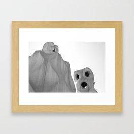 Goudy 1 Framed Art Print