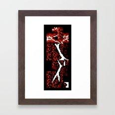Fracture In Knee Framed Art Print