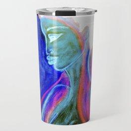 Soul Healer Blue Travel Mug