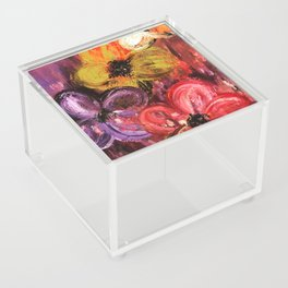 Floral Dance Acrylic Box