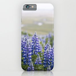 Iceland in Bloom iPhone Case