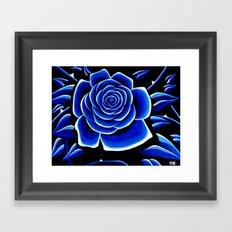Blue 1 Framed Art Print