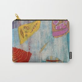 Colours and Shapes (Abstract) Carry-All Pouch