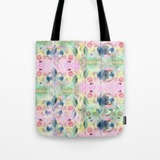 Ysmite Argate-crystal, floral, pastel, abstract Tote Bag