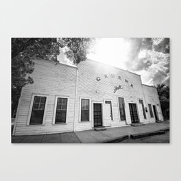 Gruene Hall - Oldest Dance Hall in Texas Canvas Print
